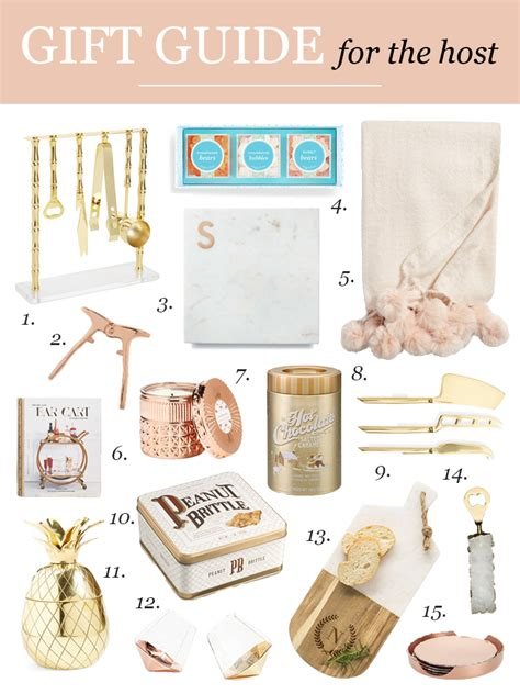 gifts for the host 15 hostess gifts holiday gift guide visions of vogue