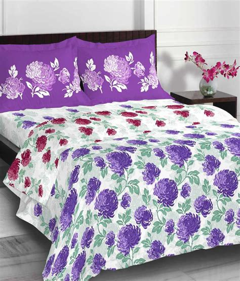 green floral comforter spaces purple green floral cotton comforter buy spaces
