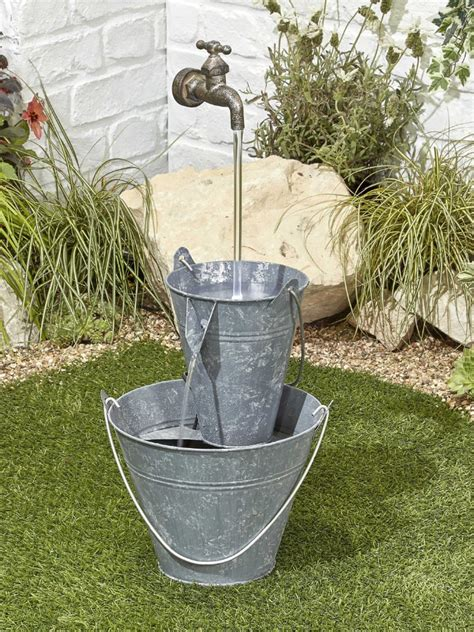 floating tap easy fountain garden water feature