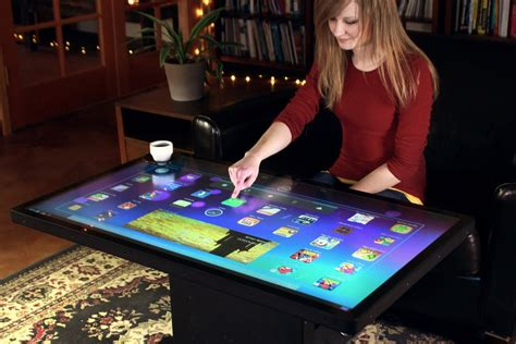 Multitouch Coffee Table Ideum S 46 Multitouch Coffee Table Bonjourlife