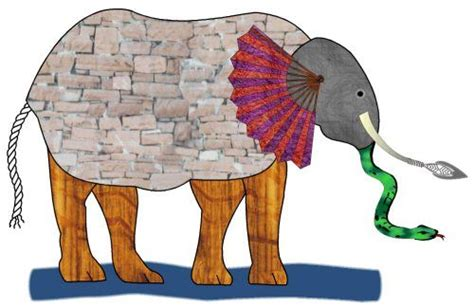 The Elephant In The Of The Blind Story the blind and the elephant home doug johnson s blue skunk