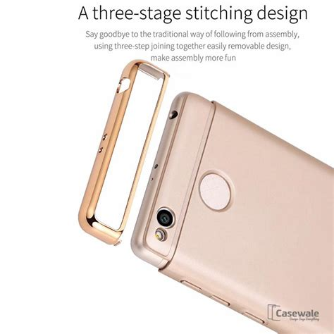 Xiaomi Redmi Note 5a Prime 360 Degree Protection anti knock electroplated ultra thin for redmi note 4