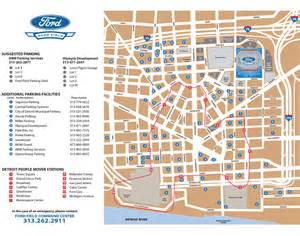 parking ford field