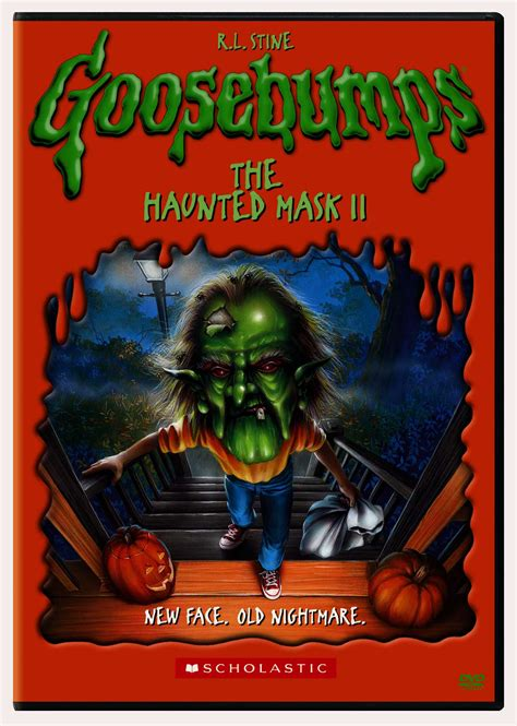 Goosebumps The Haunted Mask Ii R L Stine goosebumps haunted mask ii by goosebumps dvd