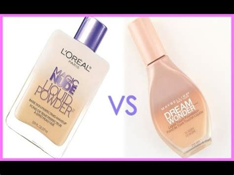 Maybelline Liquid Powder l oreal magic liquid powder vs maybelline