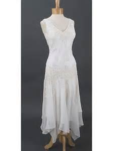 wedding dress handkerchief 20s inspired wedding dress handkerchief hem dresses