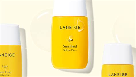 Harga Laneige Light Sun Fluid laneige sun care line reviews more cinddie