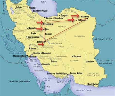 qom iran map mashhad tour to iran iran travel information iran