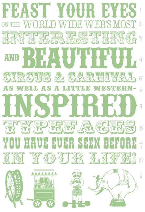 printable carnival fonts 8 best images of free printable circus fonts carnival