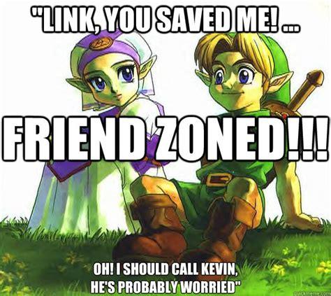 Meme Link - friend zone zelda memes quickmeme