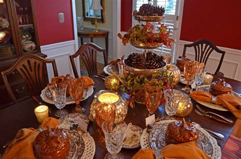 thanksgiving table thanksgiving table setting with nature themed centepiece