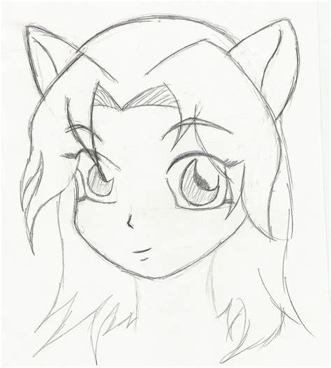 www easy easy cute anime drawings drawing arts sketch
