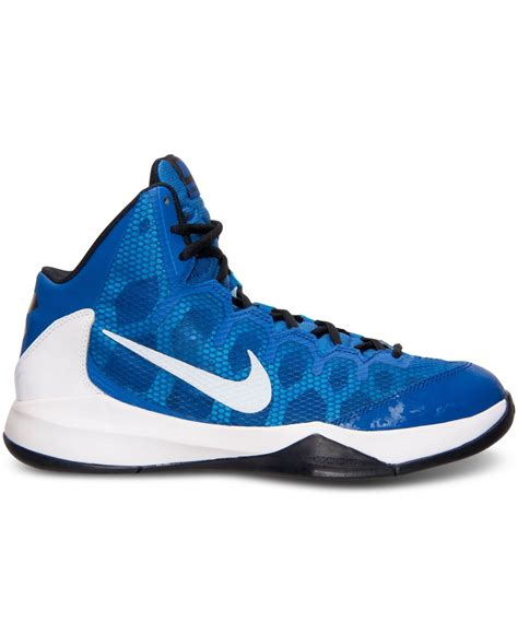 basketball shoes finish line nike s zoom without a doubt basketball sneakers from