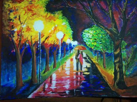 paint styles afremov painting style by jeyzcj on deviantart