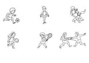 ausmalbild sport sportarten 252 kinder zum ausmalen kostenlos ausdrucken