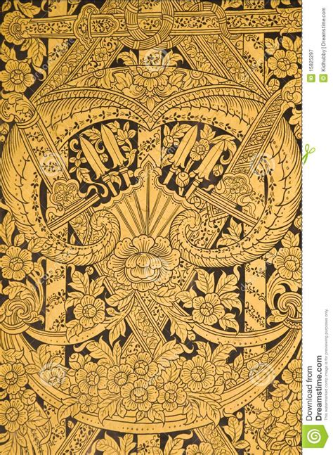 thai pattern history thai history pattern royalty free stock photography