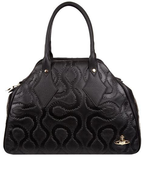 Vivienne Westwood For Louis Vuitton Pack Bum Bag by Lyst Vivienne Westwood Black Squiggle Shoulder Bag In Black