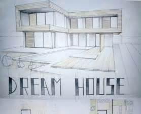 modern house drawing modern house drawing perspective floor plans design architecture student arch student com