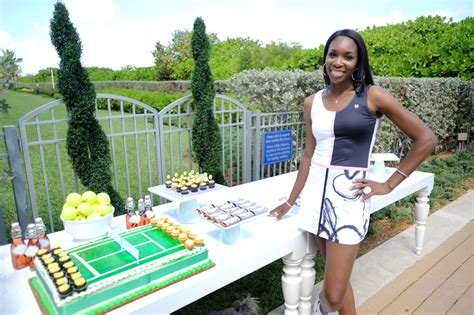 beach themed clothing line the launch party of eleven by venus williams in miami