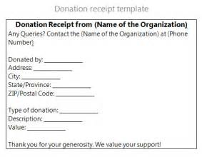 Charitable Donation Receipt Template Pics Photos Non Profit Receipt Template