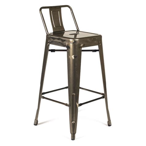 bar stools raleigh raleigh modern low back gun metal counter stool eurway