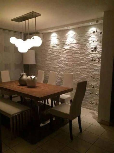 Tipos De Piedras Para Fachadas #5: Comedores-con-paredes-de-piedra-2.jpg