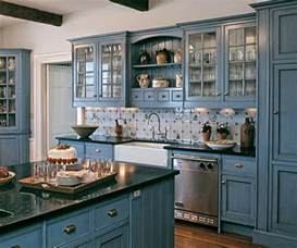 Blue Kitchen Decor Ideas 17 Best Ideas About Blue Kitchen Cabinets On