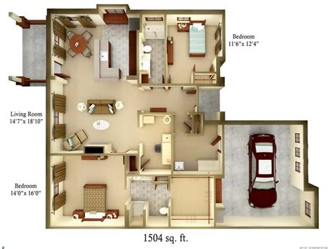 3 bedroom cottage floor plans bloombety cottage floor plans with 3 bedroom cottage