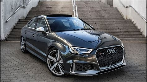 audi rs3 sedan finally 2018 400hp audi rs3 sedan 5cyl turbo shape we