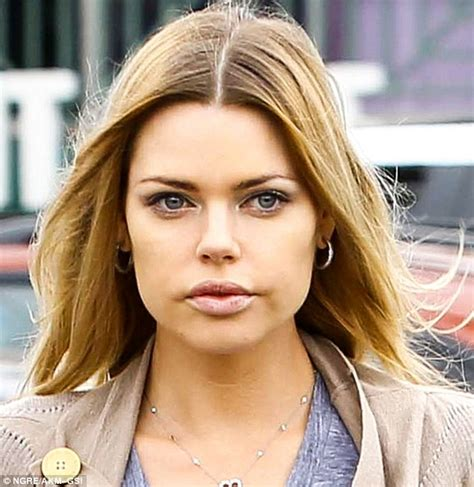 australian actress julie sophie monk turns heads with her plumped up lips daily