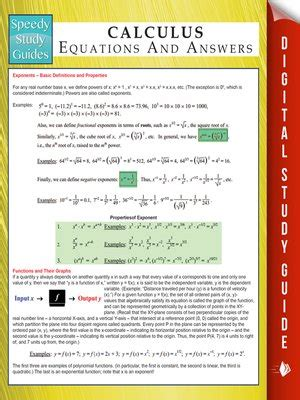 the guide to calculus guide series speedy study guides series 183 overdrive ebooks