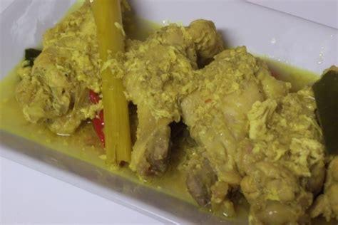 resep membuat opor ayam khas lebaran resep cara membuat ayam tuturuga khas manado yang lezat