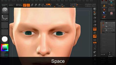 zbrush polypaint image based color palette