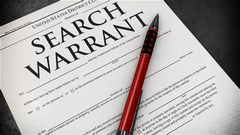 County Warrant Search Can Mislead A Judge To Sign A Search Warrant In Thurston County We The Governed
