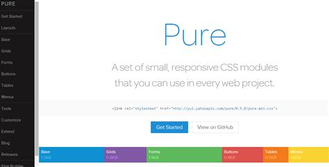 program layout artikel yaitu pure css yahoo webhozz