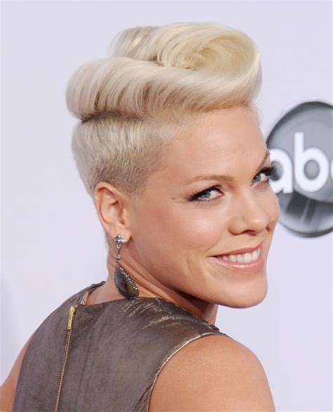 new age mohawk hairstyle celebrity pink weight height and age