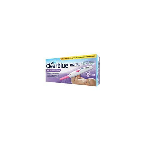 clearblue test ovulazione digitale 10 stick boscia club