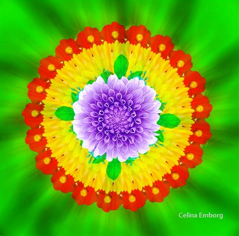imagenes de flor triste mandalas de flores para imprimir celina emborg