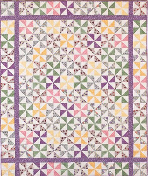 Pinwheel Quilt Pattern by Free Pinwheel Quilts Ebook Fons Porter