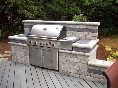 outdoor cooking spaces outdoor grill simple slide your own grill into place