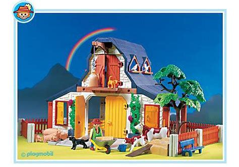 Grange Playmobil by Ferme 3072 A Playmobil 174