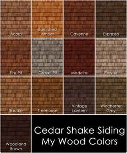 cedar stain colors cedar shake siding the only board pewter