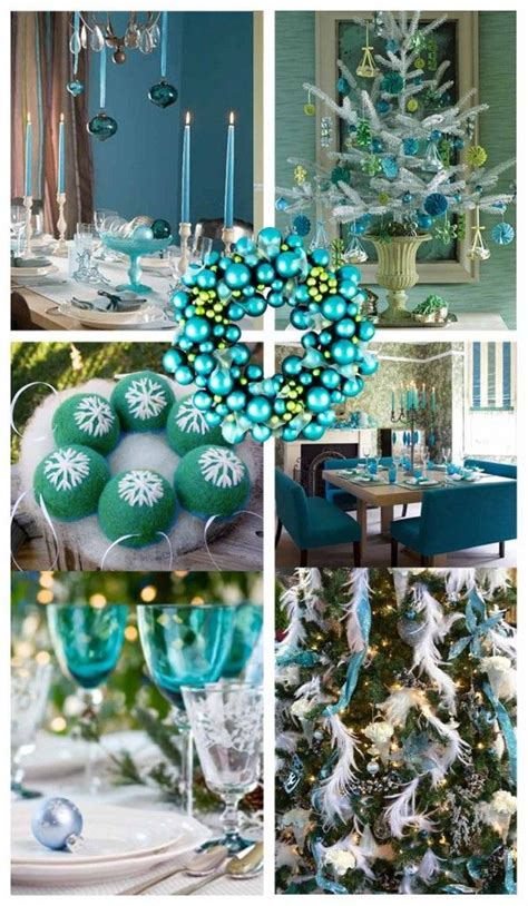 17 best ideas about teal christmas on pinterest teal