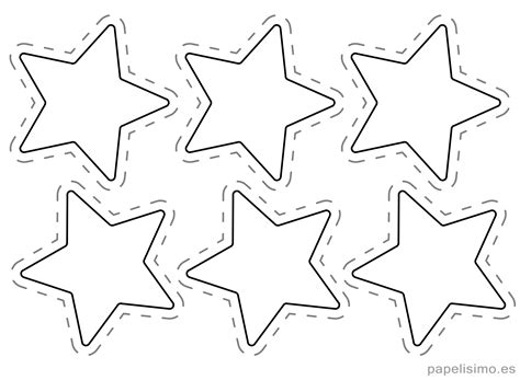 plantillas de estrellas de navidad para imprimir c 243 mo hacer guirnaldas navide 241 as de papel papelisimo