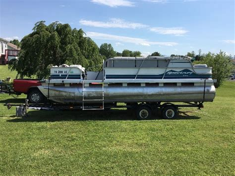 ebay motors used pontoon boats spectrum pontoon 1995 for sale for 7 000 boats from usa