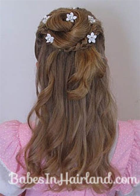 flower girl hairstyles half up baby girl hairstyles girls hair styles daughter s