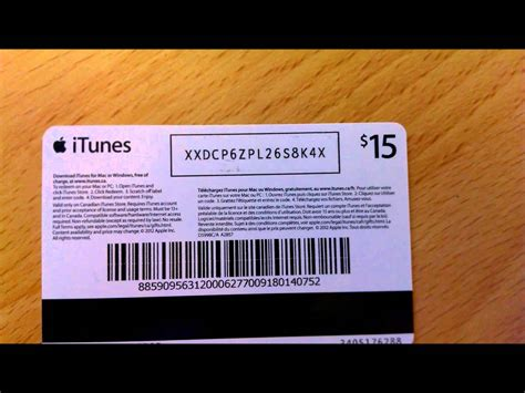 Itunes Canada Gift Card - digital itunes gift card canada