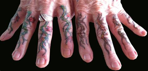 dragon tattoo on finger 33 attractive finger tattoos for men
