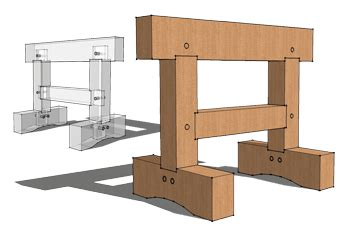 timber frame hq plans joints tools