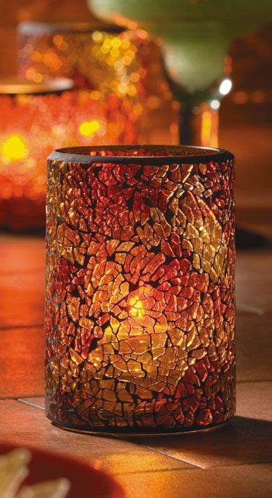 crackle glass mosaics and on